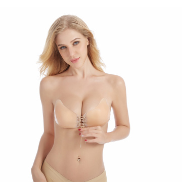 Trägerloser BH-Kleber Push-up Boobsm Invisible Bras