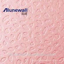 Alunewall Embossed Aluminium Composite Panel with 3mm 4mm 5mm 6mm thickness