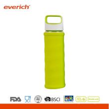 2015 nueva botella de agua de cristal de la alta calidad del estilo pequeña