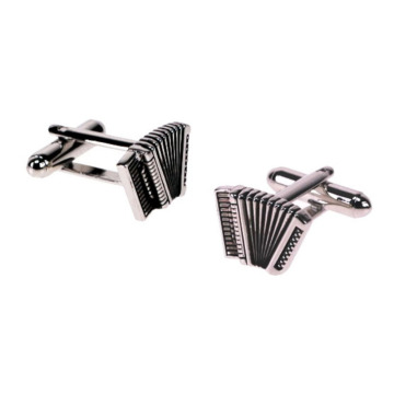 The Smart Men's Novelty Accordion Cufflinks