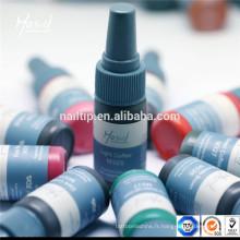 Pigment permanent de maquillage de Mastor pour la machine