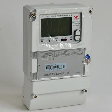 AMR Smart Credit Charged Energia Eletrônica Medidor de Energia