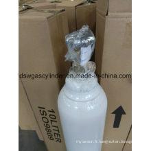 99,9% de gaz de coke rempli dans le gaz de cylindre 40L avec la valve de Qf-2
