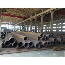 Q460 Hot DIP Galvanizado Línea de Transmisión Eléctrica Steel Pole