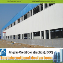 Almacenes de estructura de acero de doble piso