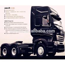 Camión 6x4 Sinotruk HOWO / Camión tractor HOWO / Motor principal / Cabeza de remolque con motor 371Hp y 420Hp