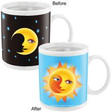 Magic Coffee Mugs 11oz ceramic travel magic mug.