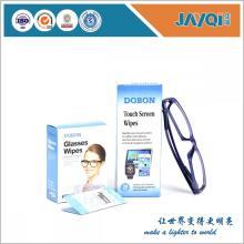 Toallitas húmedas para limpiar lentes Logotipo de la marca