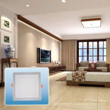 Lumière chaude de panneau carré de double de vente chaude / lumière de LED