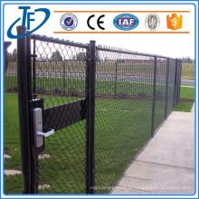 Vente chaude galvanisée - barricades de barrières de maillons, clôture de maillage
