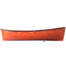 Solas open type  F.R.P rescue boat fire proof livesaving lifeboat