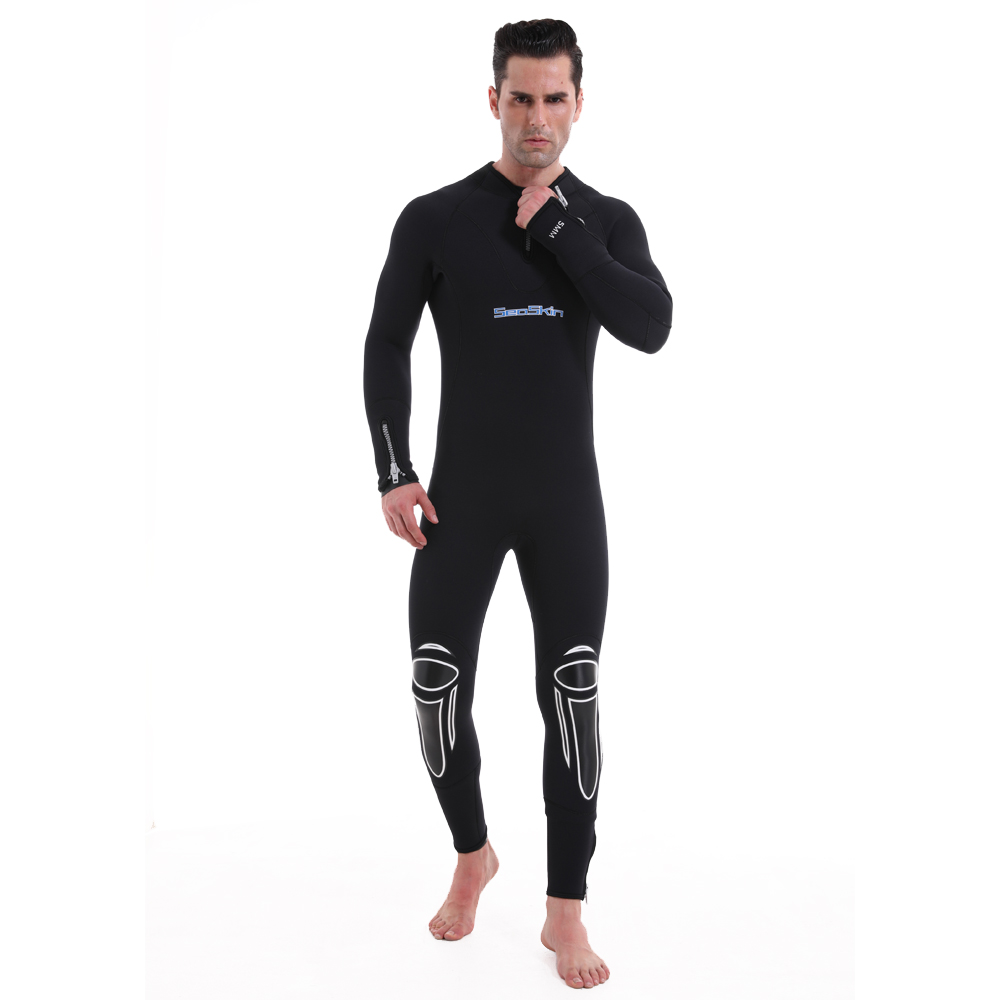 Seaskin Back Zip Wetsuit Men