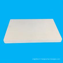 Feuille blanche de mousse de PVC de lumière pour le panneau d'exposition