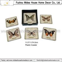 Coasters da cortiça do PVC da impressão feita sob encomenda do produto novo