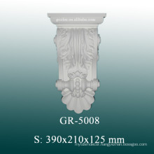 Decorative PU Corbels, Hand Carved Corbels for Column Design