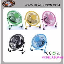 Ventilateur de table USB pour ordinateur portable Ventilateur 4inch 6inch 8inch