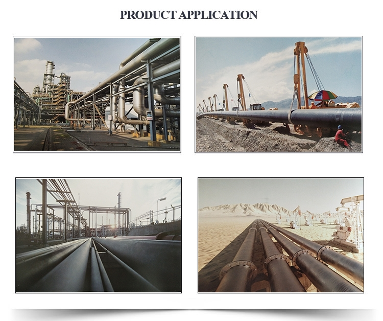 Epoxy Resin Coated Steel Pipe Application
