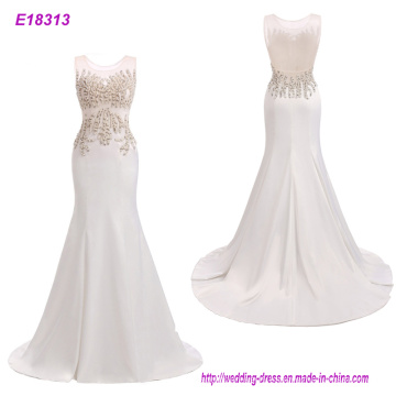 China Factory Direct Elegant Full Length Party Evening Dress