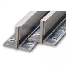 Shaft components lift elevator t75 machined guide rail size