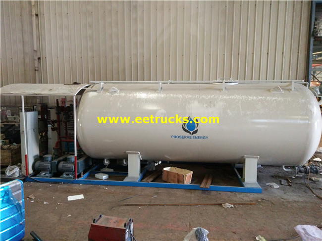 8ton LPG Skid-mounted Filling Plants