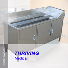 Stainless Steel Soaking and Washing Sink for Gastroscope (THR-SS079)