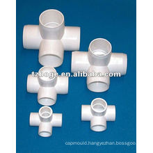 PVC PPR plastic pipe fitting mould
