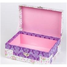 Jewelry Paper Box. Customized Fine Make-up Box,