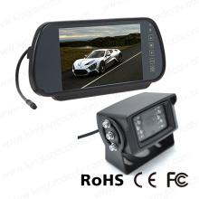 Système de surveillance à lunette arrière à 7 pouces avec caméra infrarouge