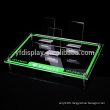 acrylic cell phone charger display