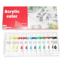 pintura establece acrílico color agua