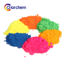 Microspheric resin Fluorescent Pigment powder for leather , coating , paint paper