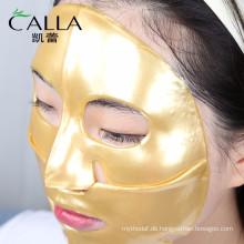 China Hersteller Anti-Aging Gold Bio-Kollagen Gesichtsmaske für den Großhandel