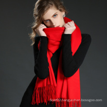 Fashion Accessories Light Red Cashmere Wrap Lady Scarf Shawl