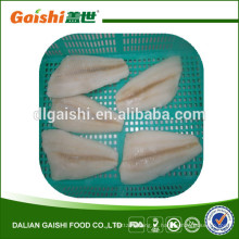 Atacado EUA águas do Alasca sashimi grau peixe congelado flounder solha filete