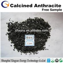 Teneur en carbone 95% Ningxia Additif carbone anthracite calciné électriquement