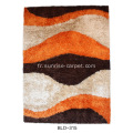 Polyester Viscose & Soie Shaggy Mix Tapis