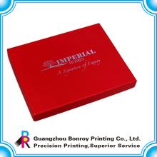 Китай картона подгонянная конструкция Логоса оптовые ювелирные изделия коробки
