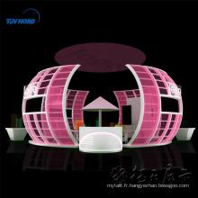 Detian offre vente chaude mode exposition cosmétique Potable Stand