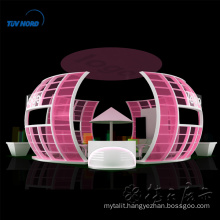 Detian Offer Hot Sale Fashion Potable Cosmetic Exhibition Fair Stand