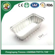 Envase de comida disponible del papel de aluminio de la línea aérea del precio bajo