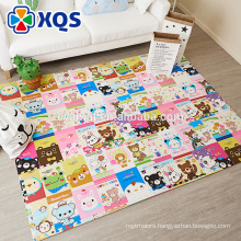 China supplier heat pressed formamide FREE large padded floor mats for customization
