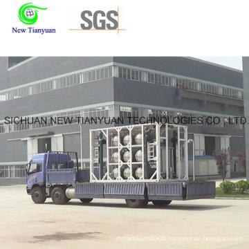 LNG Liquefied Natural Gas Meidum Steel Dewar Cylinder