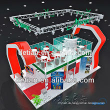 2014 neue Design-Acryl-Druck und billige tragbare Messestand Ausstellung Display
