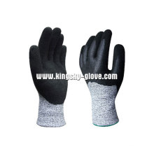 13G Hppe Liner Anti-Cut-Nitril-Doppel-Tauch-Handschuh-5049