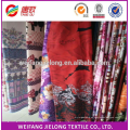 Tela rotatoria 100% de la sábana del pigmento 3D del poliéster para el mercado de la India