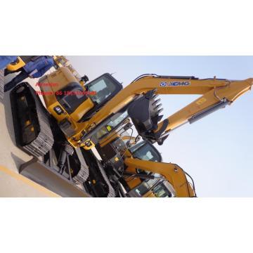 Excavadora de máquina sobre orugas XCMG XE80D