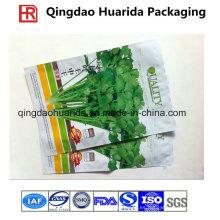 Fabricante de semillas / frijoles Bolsas plásticas de tres lados para sellado térmico