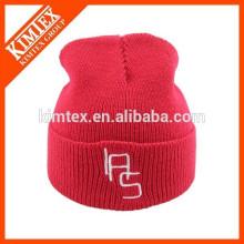 Оптовая мода мода пользовательских зимой вязать бесплатно шапочка пом