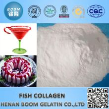 white powder fish collagen as food additives