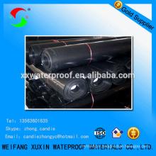 Imperméable à membrane type HDPE liner pour étang
